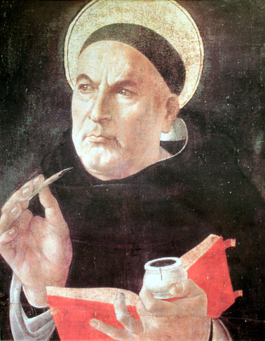 Sandro Botticelli (1445–1510), Św. Tomasz z Akwinu