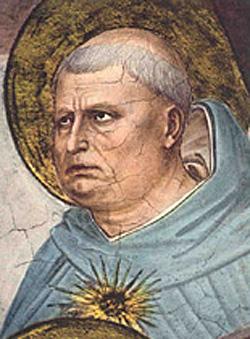 Fra Angelico, Tomasz z Akwinu (1395 circa–1455)